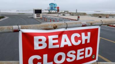 BeachClosedSign